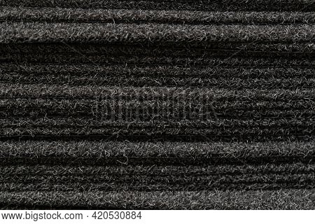 Black Carpet For Sale. Carpets Placed On Top Of Each Other