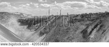 Copper Mine And Smelting Complex Of Zijin Bor Copper In Bor, Serbia On May 2, 2021, One Of The Large
