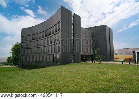 """JENA, GERMANY - MAY, 08, 2011: """"ABBE Center of Photonics (ACP)"""" am Campus Beutenberg in Jena. Gerrmany"""