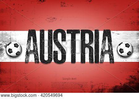 National Flag Of Austria