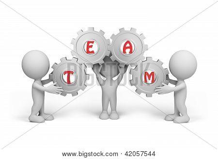3D Person - Team