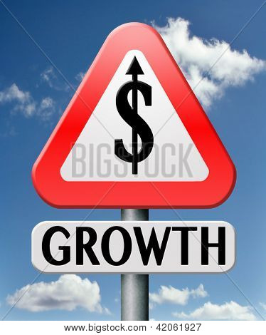 economical growth strong financial dollar business success economic stock rise