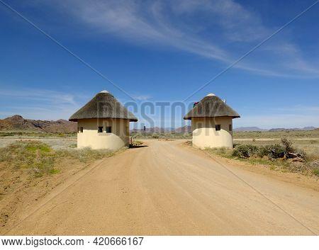 Sossusvlei / Namibia - 02 May 2012: The Lodge In Namib Desert, Sossusvlei, Namibia