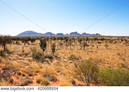 Kata Tjuta (the Olgas), Northern Territory, Australia, September 2018.  These Imposing Rock Formatio