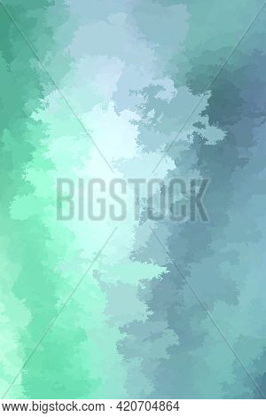 Abstract Modern Vector Background, Vertical Format. Digitally Generated Contemporary Wallpaper. Mute