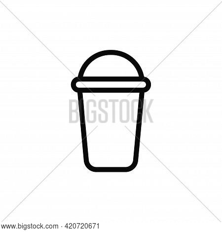Coffee Cup Icon Isolated On White Background. Coffee Cup Icon In Trendy Design Style For Web Site An