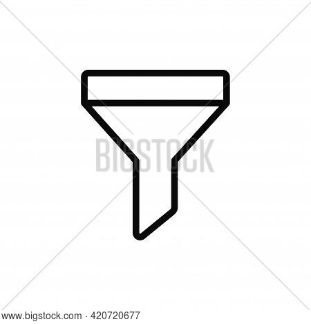 Filter Icon Isolated On White Background. Filter Icon In Trendy Design Style For Web Site And Mobile