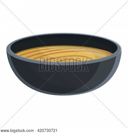 Korean Soup Icon. Cartoon Of Korean Soup Vector Icon For Web Design Isolated On White Background