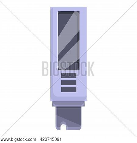 Ph Meter Chemical Icon. Cartoon Of Ph Meter Chemical Vector Icon For Web Design Isolated On White Ba