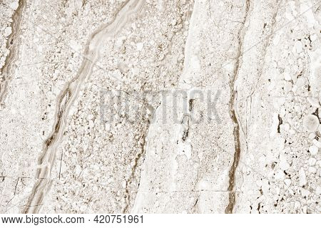Gray Marble Background. White Mineral Texture. Bright Backdrop. Kitchen Counter Material. Interior S