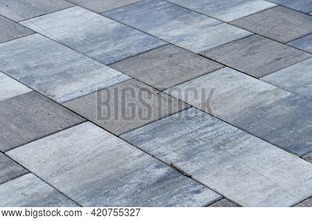 Paving Slabs In Moscow, Updated Paving, Replacement Of Asphalt