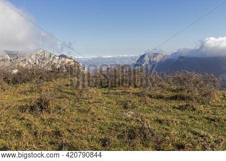 Autumn Landscape Of Balkan Mountains And Vratsata Pass, Bulgaria