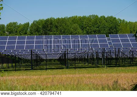 Solar Panel Energy Technology Industry Ozone Sunny