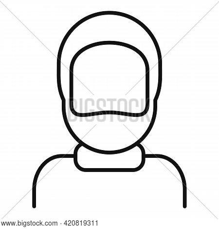 Retirement Grandpa Icon. Outline Retirement Grandpa Vector Icon For Web Design Isolated On White Bac