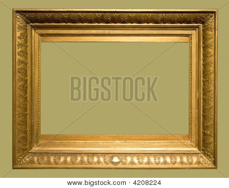 Photo Of Aged Picture Frame