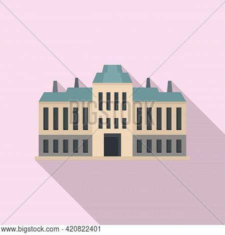 City Governance Icon. Flat Illustration Of City Governance Vector Icon For Web Design