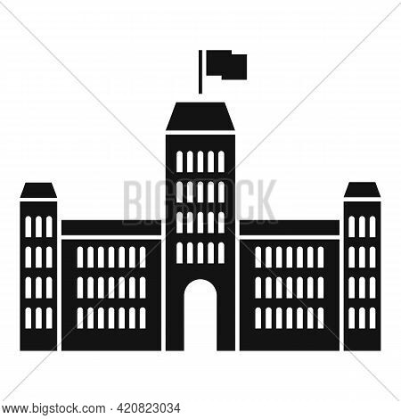 Parliament Hall Icon. Simple Illustration Of Parliament Hall Vector Icon For Web Design Isolated On