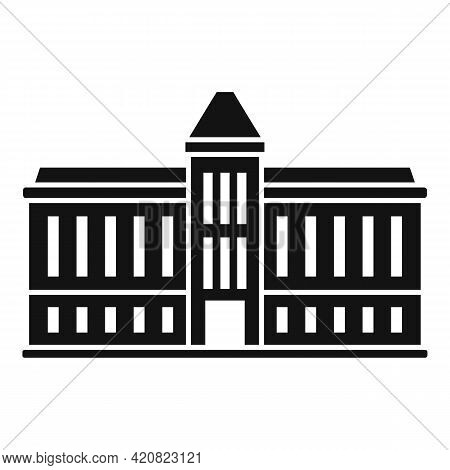 Parliament House Icon. Simple Illustration Of Parliament House Vector Icon For Web Design Isolated O