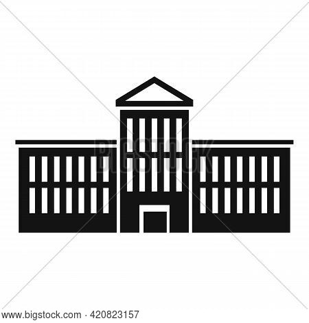Urban Parliament Icon. Simple Illustration Of Urban Parliament Vector Icon For Web Design Isolated O
