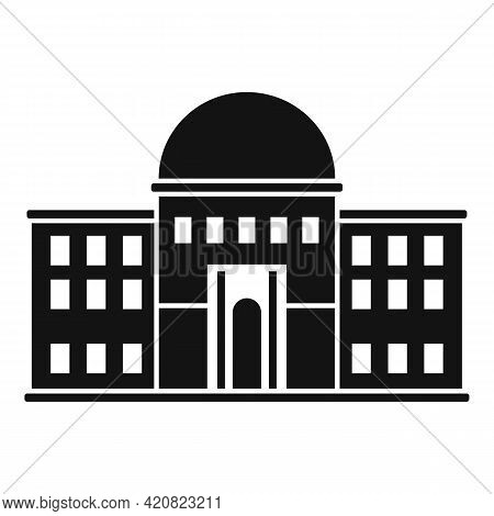 Palace Parliament Icon. Simple Illustration Of Palace Parliament Vector Icon For Web Design Isolated