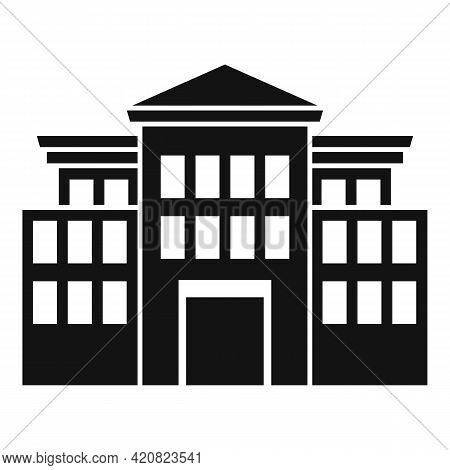 History Parliament Icon. Simple Illustration Of History Parliament Vector Icon For Web Design Isolat