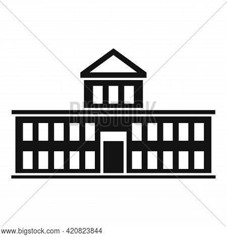 Parliament Attraction Icon. Simple Illustration Of Parliament Attraction Vector Icon For Web Design