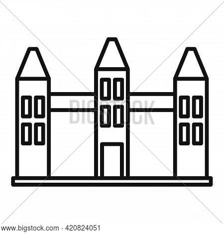 Country Parliament Icon. Outline Country Parliament Vector Icon For Web Design Isolated On White Bac