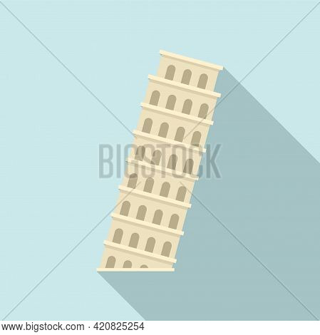 Italy Sightseeing Icon. Flat Illustration Of Italy Sightseeing Vector Icon For Web Design
