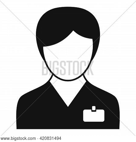 Nursing Team Icon. Simple Illustration Of Nursing Team Vector Icon For Web Design Isolated On White