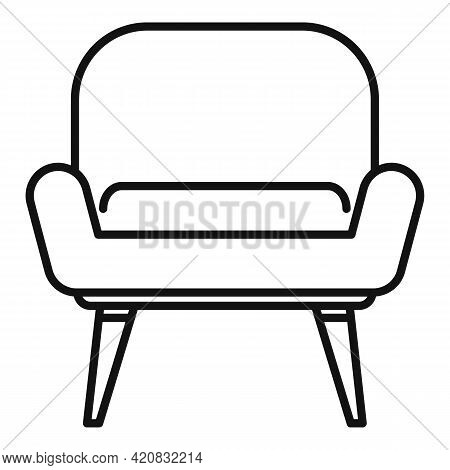 Nursing Armchair Icon. Outline Nursing Armchair Vector Icon For Web Design Isolated On White Backgro