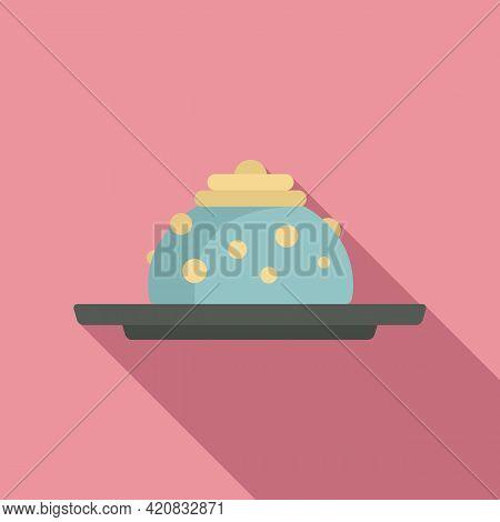 Molecular Cuisine Fresh Icon. Flat Illustration Of Molecular Cuisine Fresh Vector Icon For Web Desig