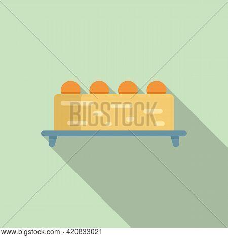 Molecular Cuisine Grande Icon. Flat Illustration Of Molecular Cuisine Grande Vector Icon For Web Des