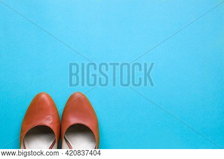 Job Recruitment Or Hiring Concept, Words We Are Hiring Next To Women Shoes