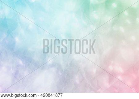 Colorful glittery bokeh background illustration