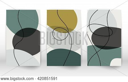 Abstract Hand Drawn Watercolor Effect Design Elements. Modern Art Print. Contemporary Design With Do