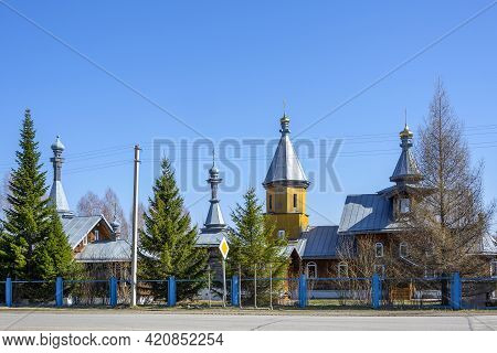Church In Honor Of The Image Of Christ The Savior Not Made With Hands In The Village Of Ursk, Kemero