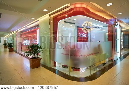 SINGAPORE - CIRCA JANUARY, 2020: London Weight Management in Nge Ann City shopping center.