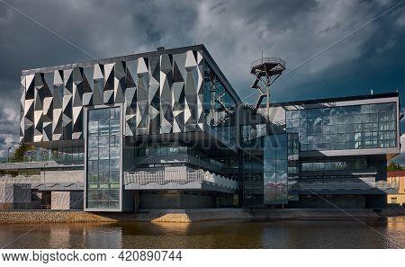 Building Of The Complex Of Business Technograd, Pavilion N38 Entrepreneurship, Center Of Education A