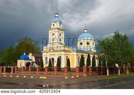 Alexander Nevsky Cathedral. Church Of St. Nicholas The Wonderworker. Pruzhany, Brest Region, Belarus