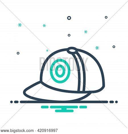 Mix Icon For Cap Hat Headgear Mutch