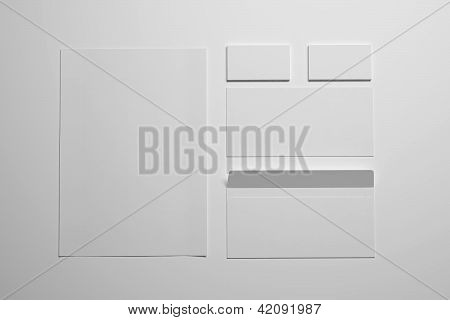Blank Envelopes Business card and document