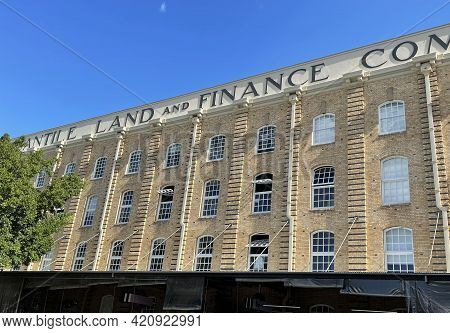 Brisbane, Australia - May 18, 2021: View Of The Australian Mercantile Land And Finance Woolstore Bui