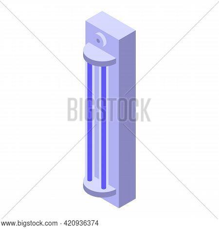 Uv Lamp Disinfection Icon. Isometric Of Uv Lamp Disinfection Vector Icon For Web Design Isolated On