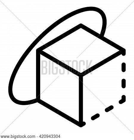 Vr Sensor Icon. Outline Vr Sensor Vector Icon For Web Design Isolated On White Background