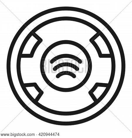 Progress Tracker Icon. Outline Progress Tracker Vector Icon For Web Design Isolated On White Backgro