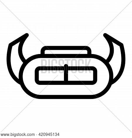 Virtual Optical Glasses Icon. Outline Virtual Optical Glasses Vector Icon For Web Design Isolated On