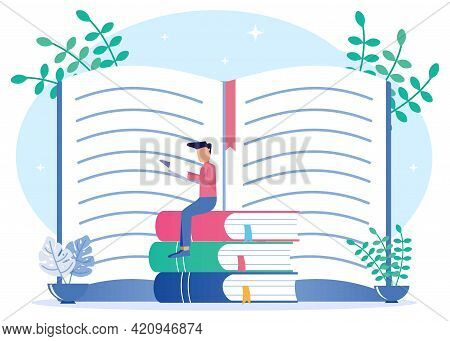 Book Icons As Literary Meanings And The Author's Moral Ideas On The Concept Of Education. A Method O