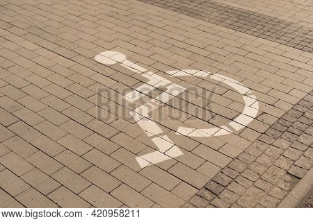 Disabled Parking Sign, Disabled Parking In Public Area