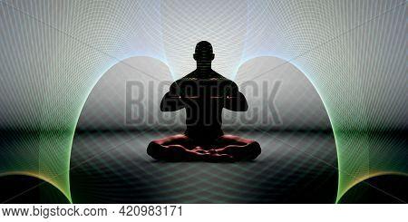 Mystical Arts Background Mystic Practice Supernatural Concept 3d Render