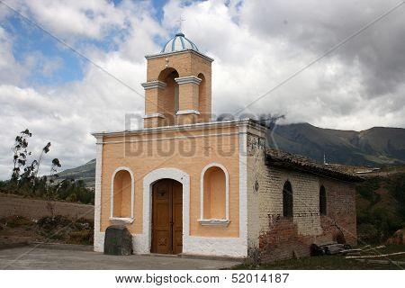 Stone Church Near Cotacachi Ecuador